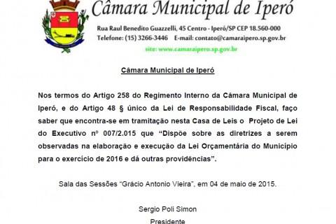 LDO Publicação Site